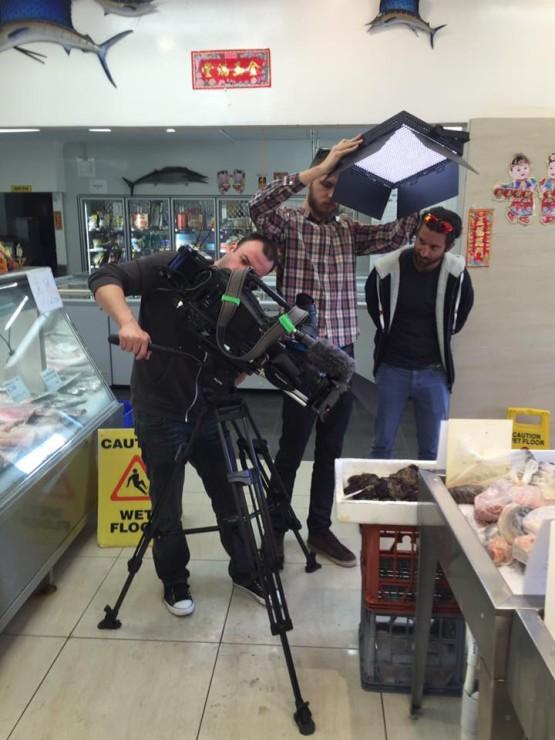 Camera Crew Channel 9